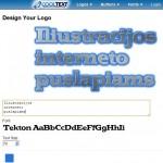 Patarimai verslui: 4. Iliustracijos puslapiui su CoolText.com
